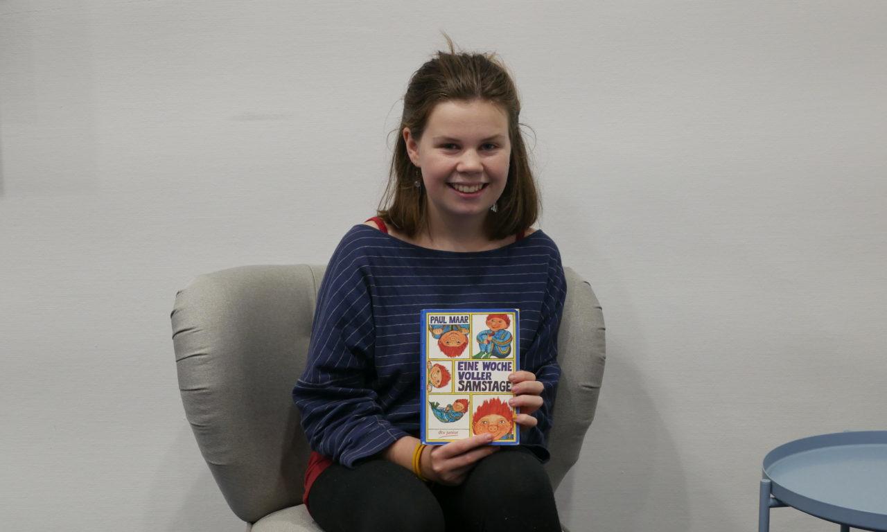 Deutschlands beste Vorleserin: Jonna (13) aus Rostock