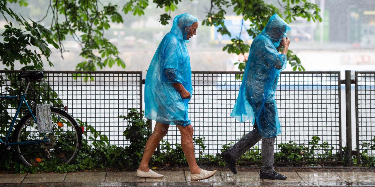 Regen macht nass – mehr oder weniger