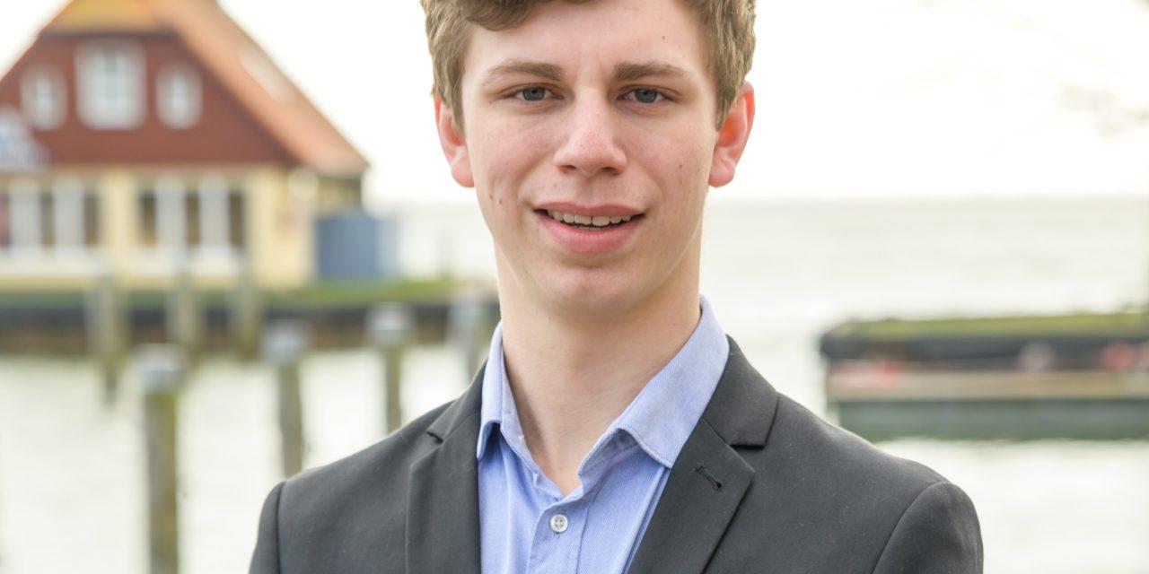 """Niklas Ziemann (20) von der CDU: """"Extreme sind nichts für mich"""""""