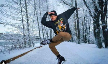 Elladj Baldé: Dieser Eiskunstläufer sprengt Klischees auf Instagram