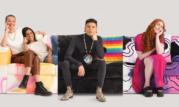 """""""Love Seats"""": Ikea entwirft Sofas zu Pride-Flaggen"""