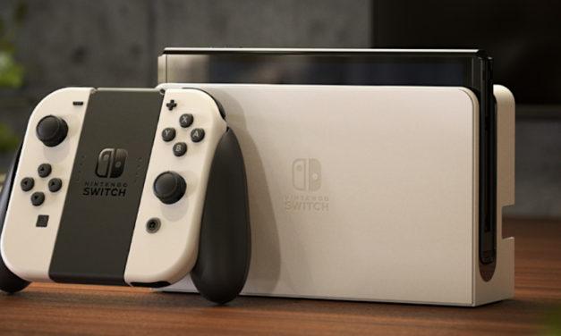 Nintendo bringt neues Switch-Modell OLED raus