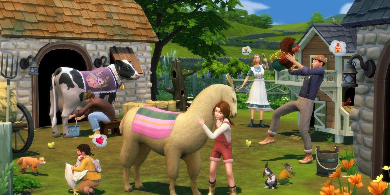 """Neue """"Sims 4""""-Erweiterung im Test: So idyllisch ist das """"Landhaus-Leben"""""""