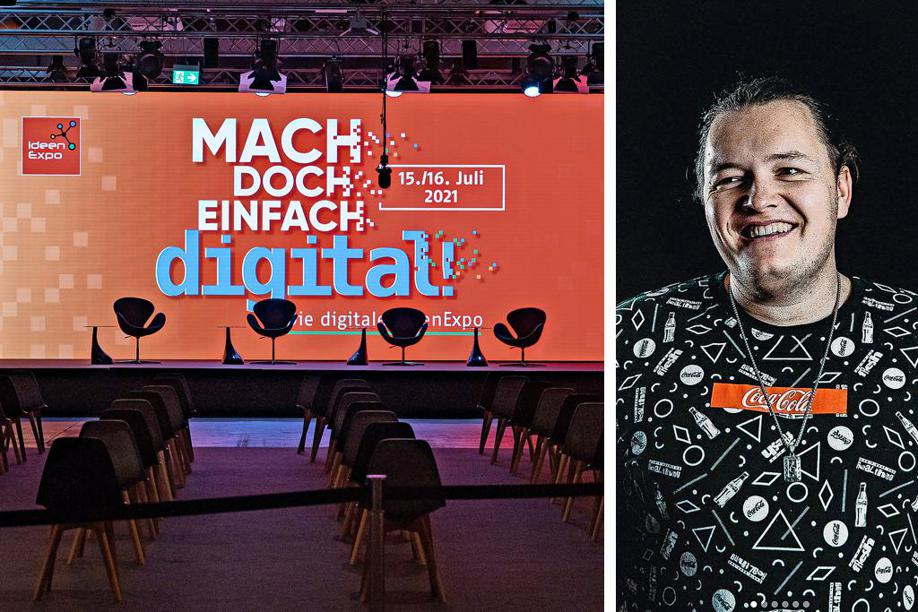 Digitale Ideenexpo: Das Live-Programm hat begonnen