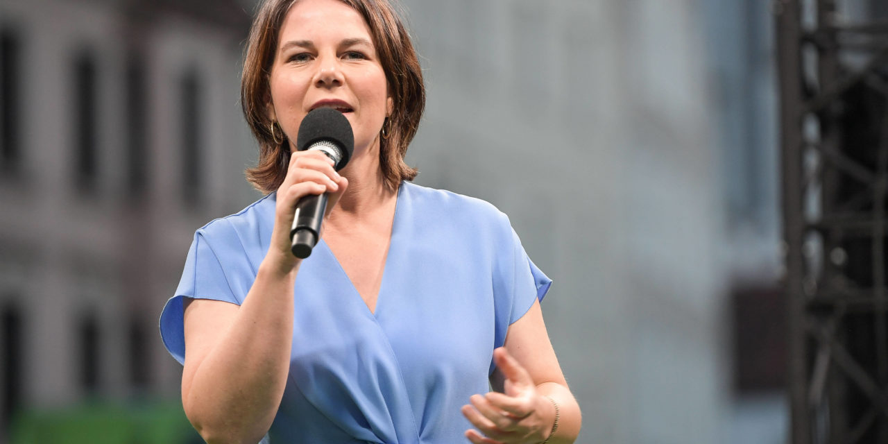Wahlkampf: Bei Jugendlichen liegt Annalena Baerbock  vorn